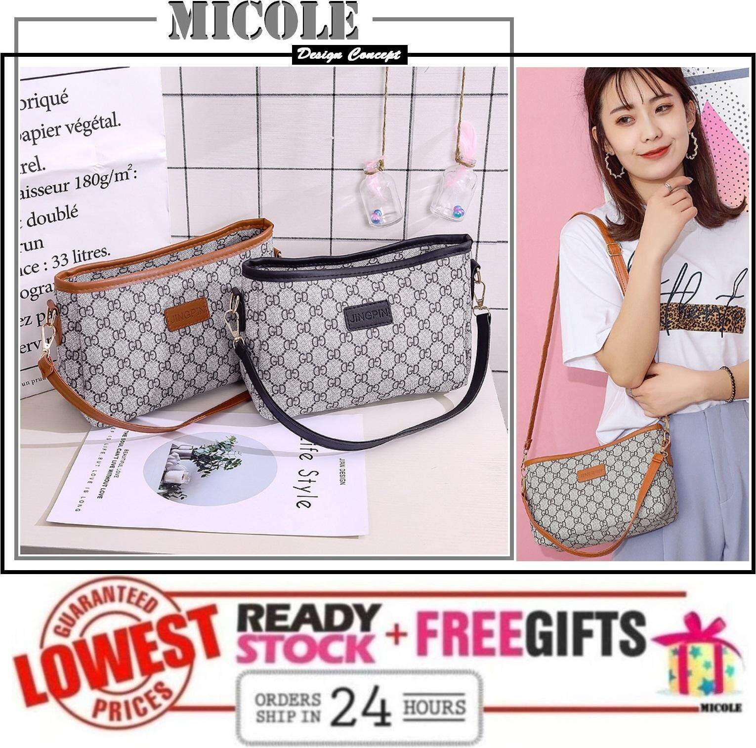 MICOLE SB2284 Korean Shoulder Bag Handbag Women Sling Bag Beg