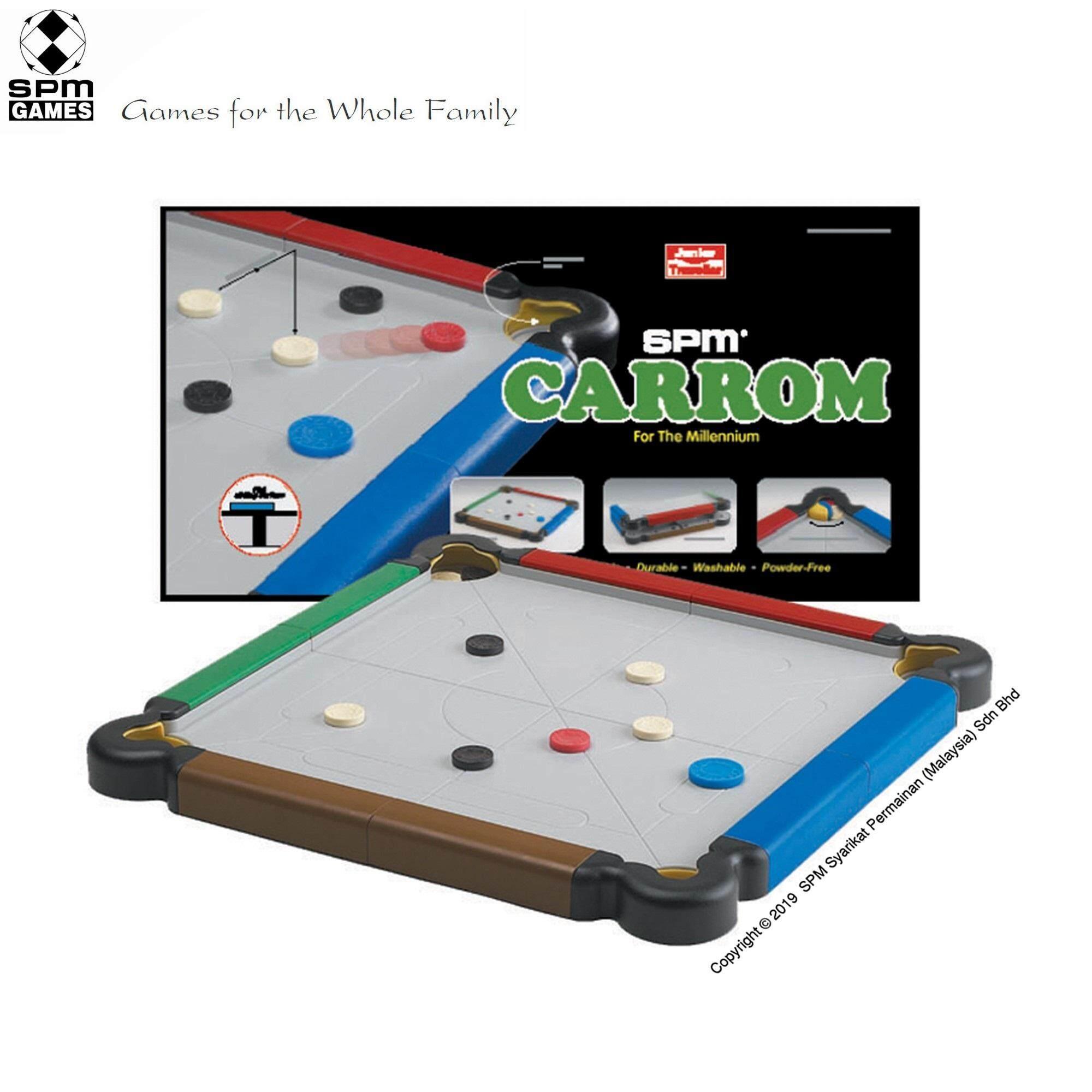 SPM Games Carrom Junior Traveller Edition