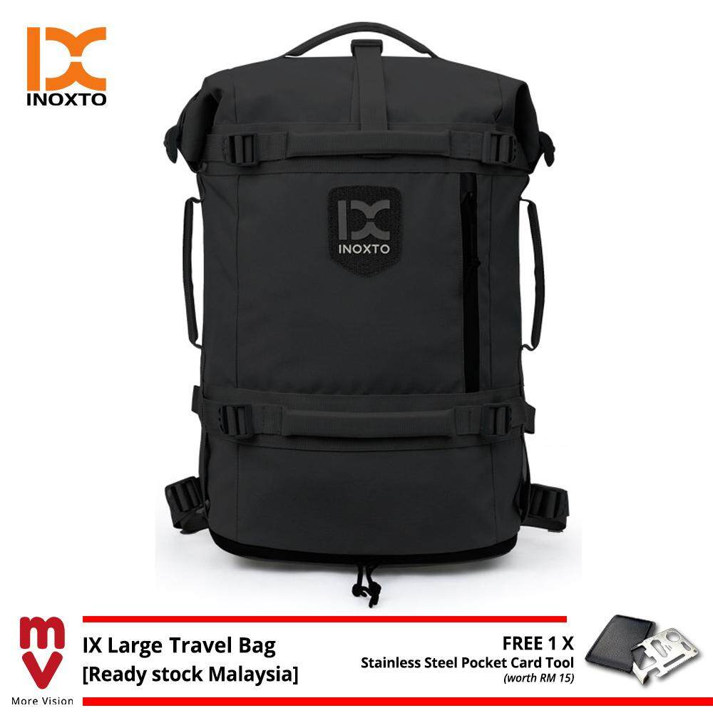 IX INOXTO Travel Backpack Large Camping Bag Rucksack Fashion Tactical Beg for Outdoor Laptop Casual Outfit Fitness - MI5501