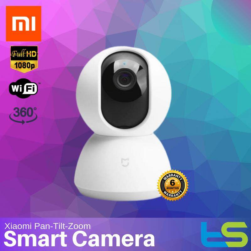 Xiaomi Mijia Mi Home Security Camera 360 Degrees 1080p [Smart WiFi Rotation Camera IP Cam Wifi] [Dome PTZ version Pan-Tilt-Zoom] CCTV Wi-Fi App linked
