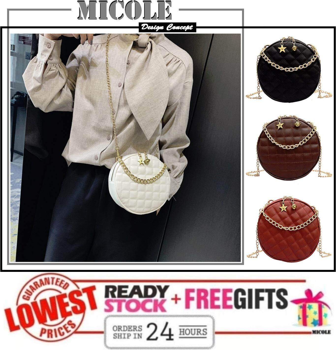 MICOLE SB2280 Korean Shoulder Bag Handbag Women Sling Bag Beg