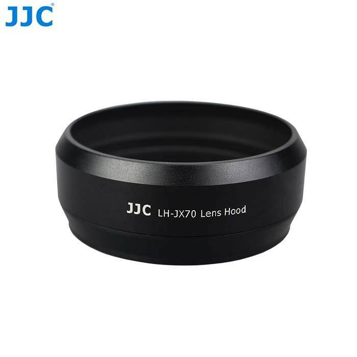 Lens Hood For Fujifilm X70 Camera JJC LH-JX70 Black ( Metal )