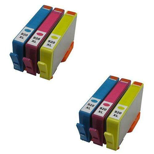 920-XL 920 XL Compatible Twin Pack 3 Multi Pack 920XL Ink Cartridge (C/M/Y)