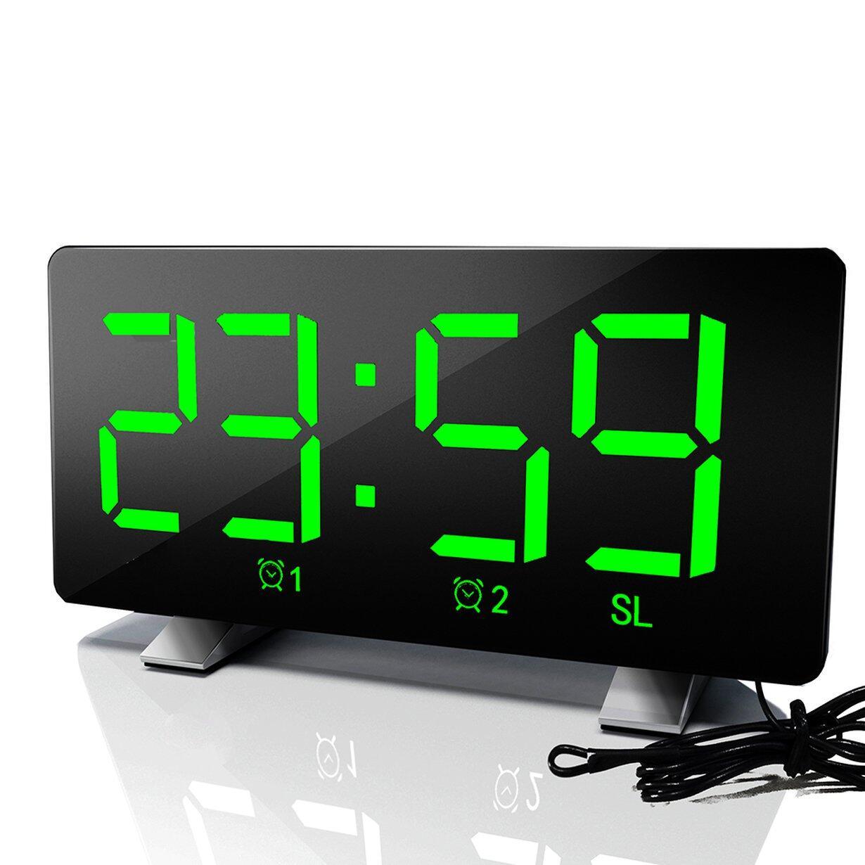 Nơi bán Top Bán LED Đài Phát Thanh Đồng Hồ Báo Thức Phòng Ngủ Sáng Tạo Báo Lại USB Sạc Đồng Hồ Kỹ Thuật Số