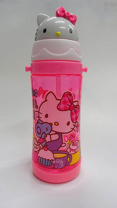 450ML Cartoon Hello Kitty Doraemon Mickey Mouse Keroppi Water Bottle Drinking Bottle BPA Free (BGJAYA)