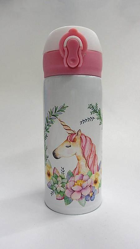 350ML Cartoon 304 Stainless Steel Thermos Flask (BGJAYA)-Unicorn
