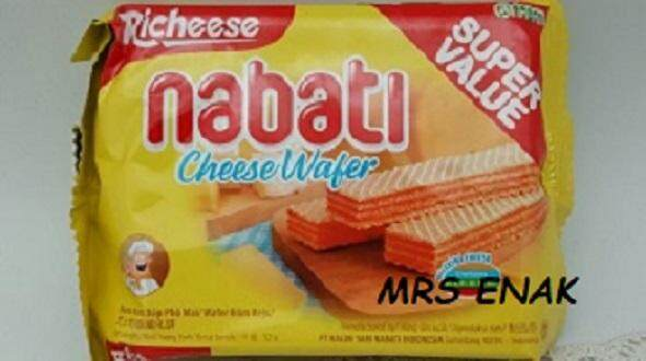 Nabati cheese 50gm X 10 pkt X 6 bag (carton)