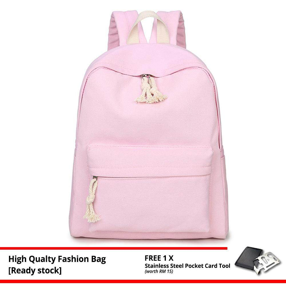 MV Bag Women Casual Backpack Laptop Beg Light Weight New Fashion Outfit Travel Bag 229 -MI2291