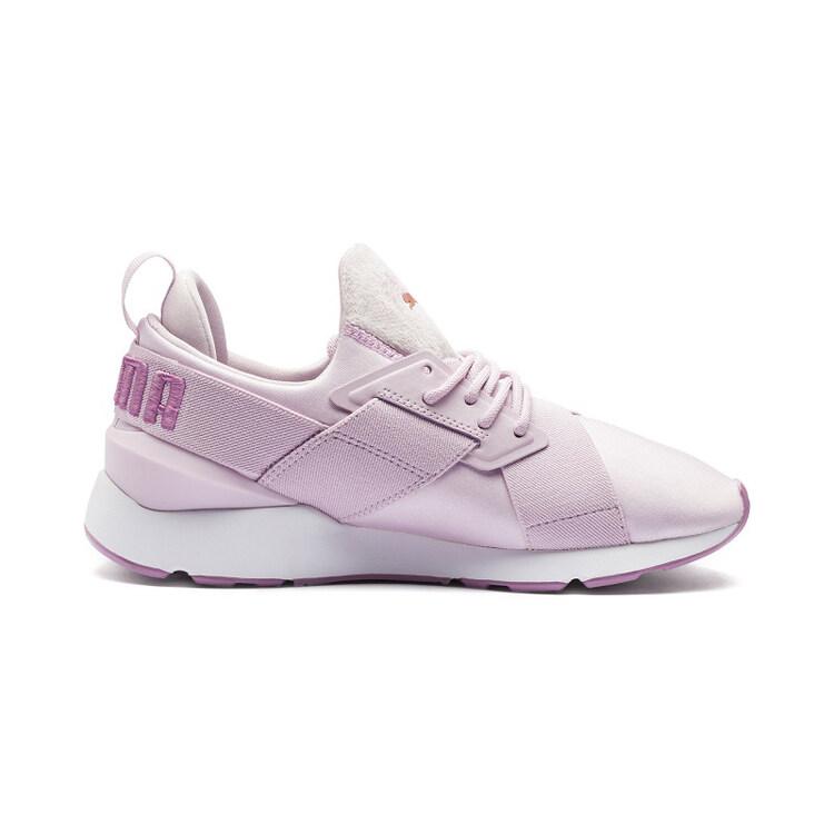 Puma_Muse Satin II Lụa Lady Giày Chạy Bộ Giày Chạy Bộ Giày Thể Thao Ngoài Trời Thời Trang Giày Skate Giản Dị 36-40 Đang Khuyến Mại Khủng