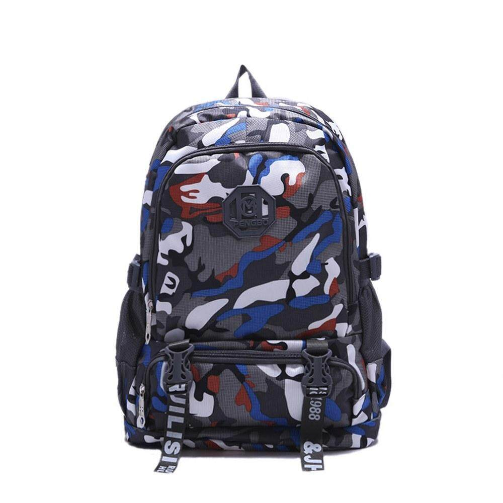 MV Bag Camouflage Backpack Laptop Travel Casual Durable Light Weight Waterproof Beg 411 MI4112