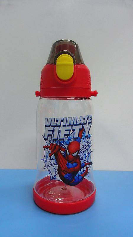 450ML Cartoon Water Bottle Drinking Bottle BPA Free Water Tumbler (BGJAYA)-Spider-Man