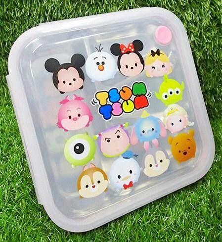 Cartoon Stainless Steel Lunch Box (BGJAYA)-Tsum Tsum