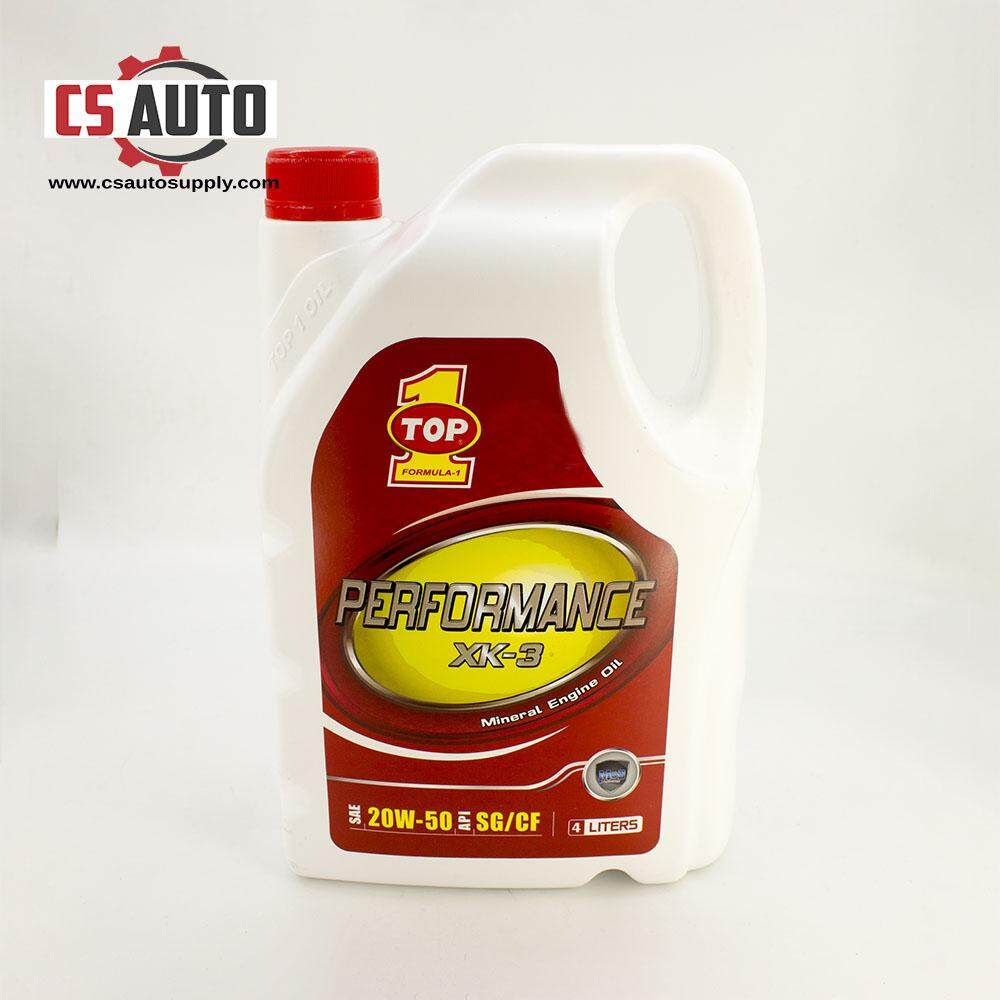 [CS auto] Top 1 Mineral Engine Oil 20W50 4 Litres