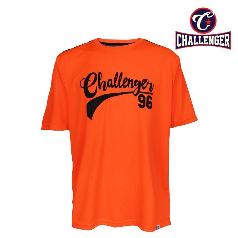CHALLENGER BIG SIZE Jersey Tee With Printing CH1022 (Orange)