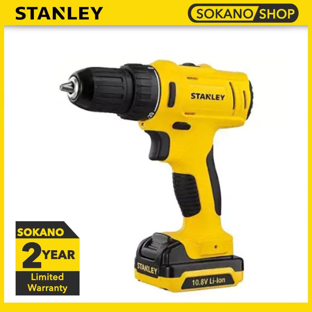 Stanley SCD12S2 Cordless 10mm Drill Driver With 2pcs Batteries & 1pcs Charger 10.8W