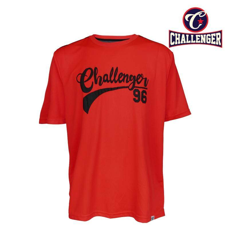 CHALLENGER BIG SIZE Jersey Tee With Printing CH1022 (Red)