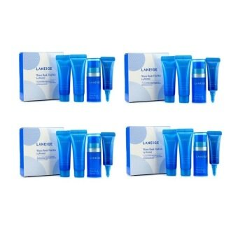 [4 Sets] Laneige Water Bank Trial Kit (4 items) 4 Sets