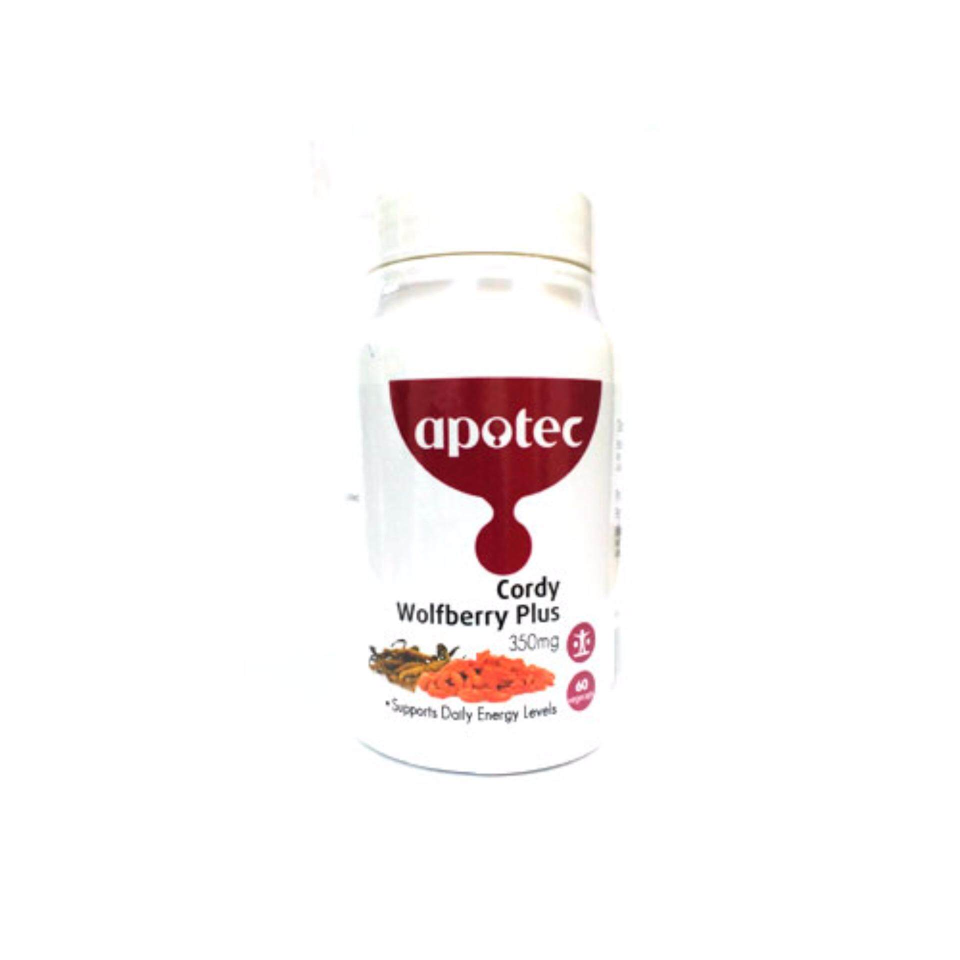 Apotec Cordy Wolfberry Plus 350mg 60s