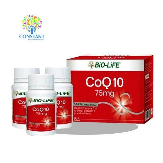 Bio-life Co Q10 75mg 30's x 3bottles