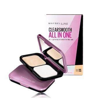 Maybelline Clear Smooth All-in-One UV-Lightening Oil-Control Two Way Cake 02 Nude Beige