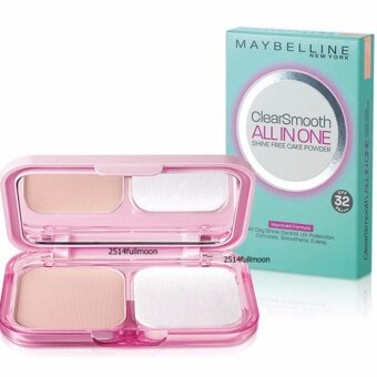 Maybelline Clear Smooth All-in-One UV-Lightening Oil-Control TwoWay Cake (Nude Beige)