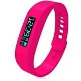SOKANO Bluetooth Healthy Bracelet Smart Wrist Watch- Rose Red