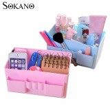 SOKANO C065 Simple and Practical Cosmetic and Table Organizer- Blue