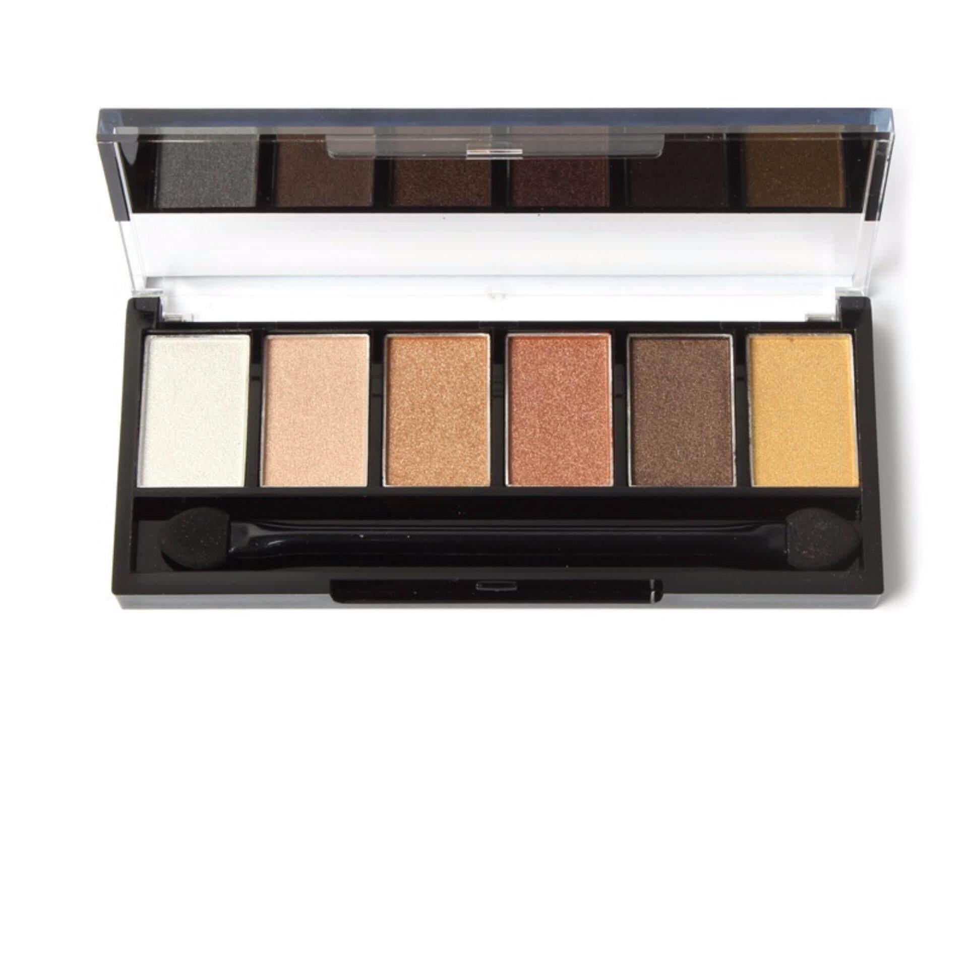 SUGAR BOX 6 Colors Eyeshadow Palette Glamorous Smokey Makeup Kit g3ge-h2ggh#8e&