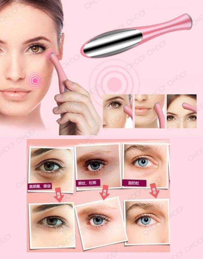 Galvanic Iontophoresis Ionic Ion Vibration Eye Massager Reduce Eye Tiredness