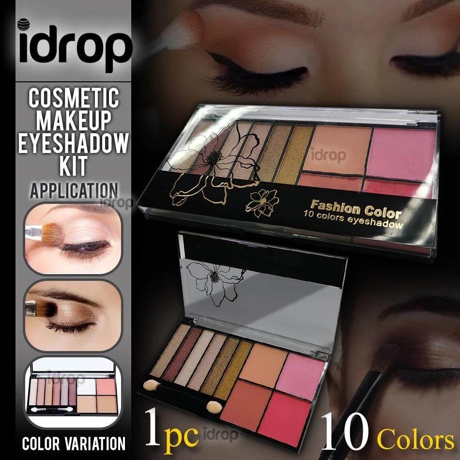 idrop 10 Colors Eyeshadow Fashion Color Cosmetic Makeup Kit