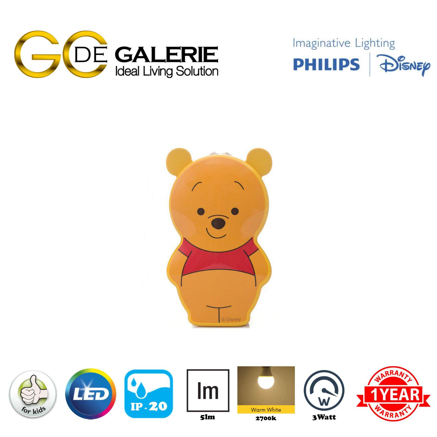 DISNEY FLASH LIGHT LED PHILIPS DISNEY WINNIE THE POOH