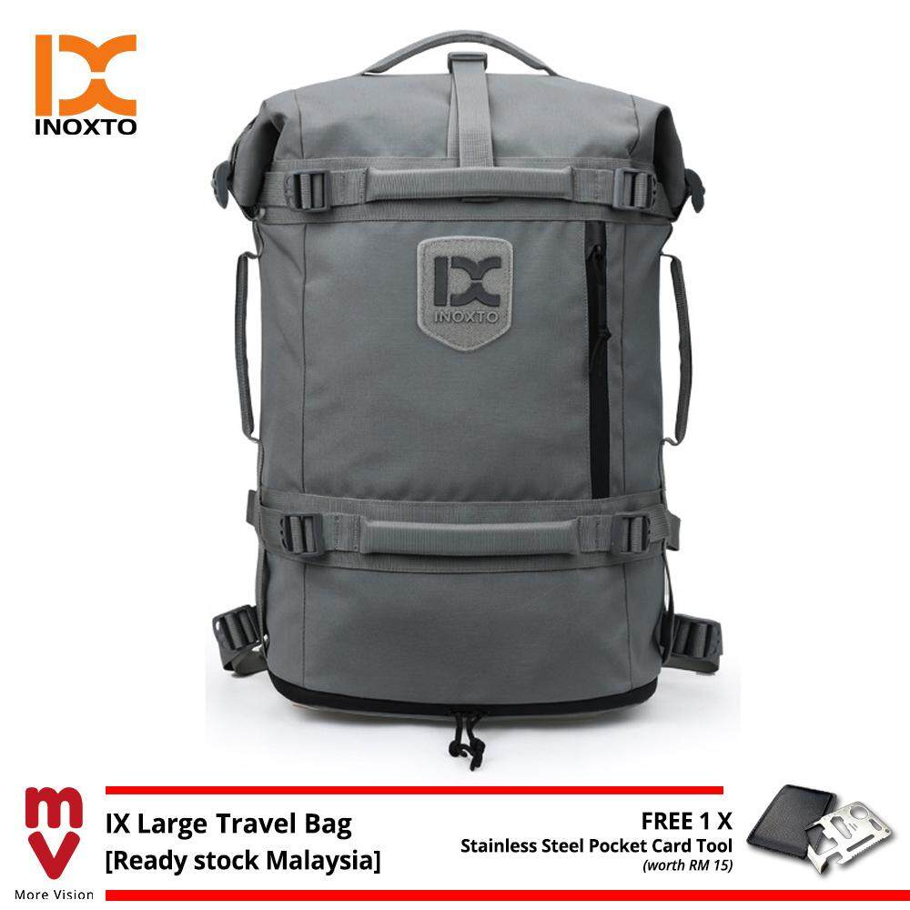 IX INOXTO Travel Backpack Large Camping Bag Rucksack Fashion Tactical Beg for Outdoor Laptop Casual Outfit Fitness - MI5502