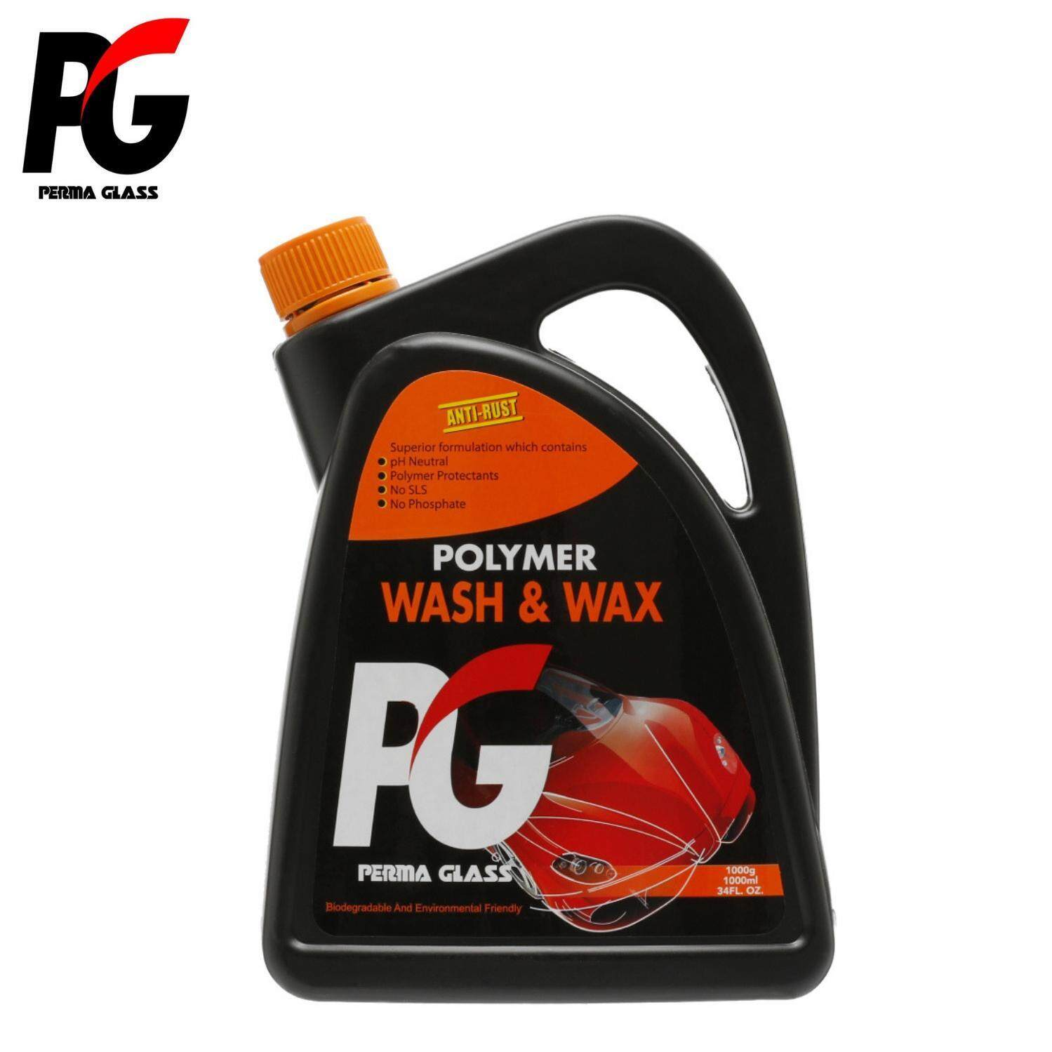 PG POLYMER WASH & WAX (1000ML) - CAR CARE EXTERIOR