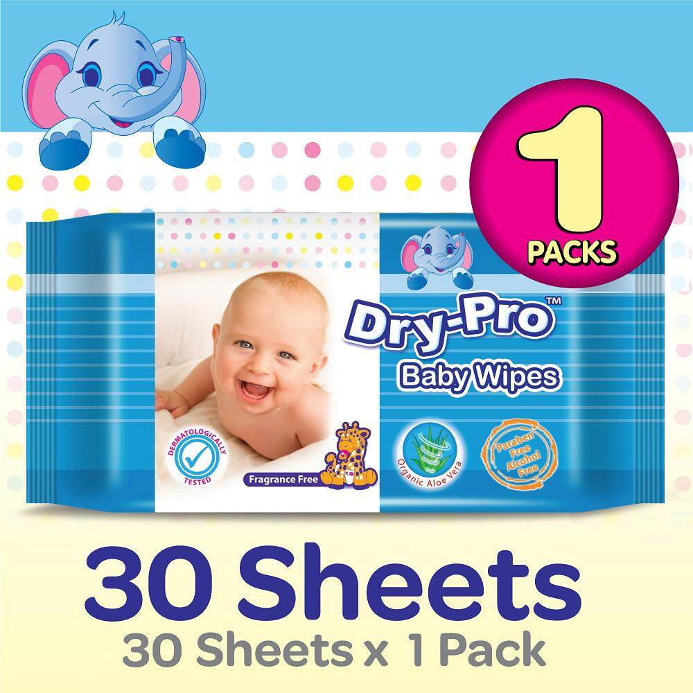 [Add-on] Drypro Baby Wipes 30s x 1 Pack [WangZheng CARE]