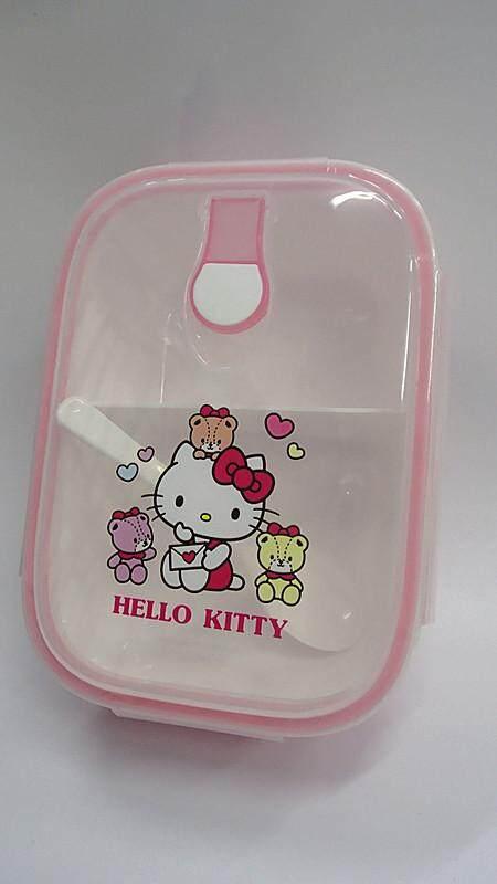 [Ready Stock] Cartoon Lunch Box Food Containers (BGJAYA)-Hello Kitty