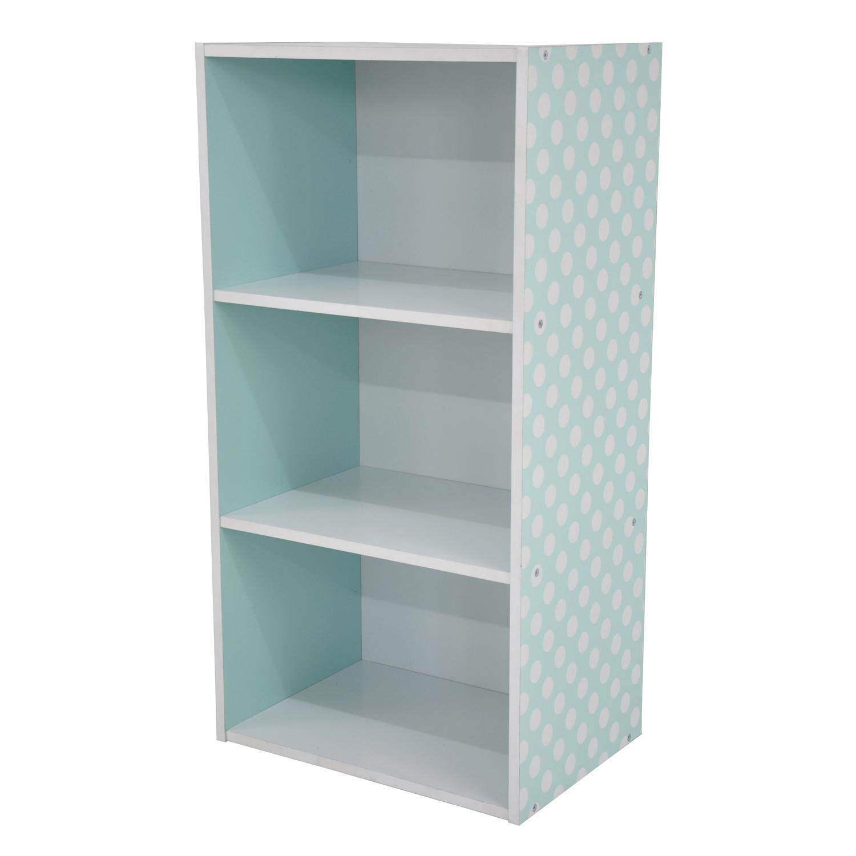 PAMICA SV6120 Lily 3 Tier Bookcase Storage Shelf