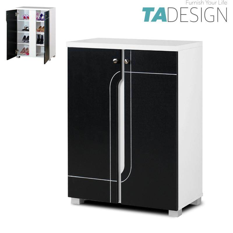 TAD NABILA 2 door shoe rack cabinet-red