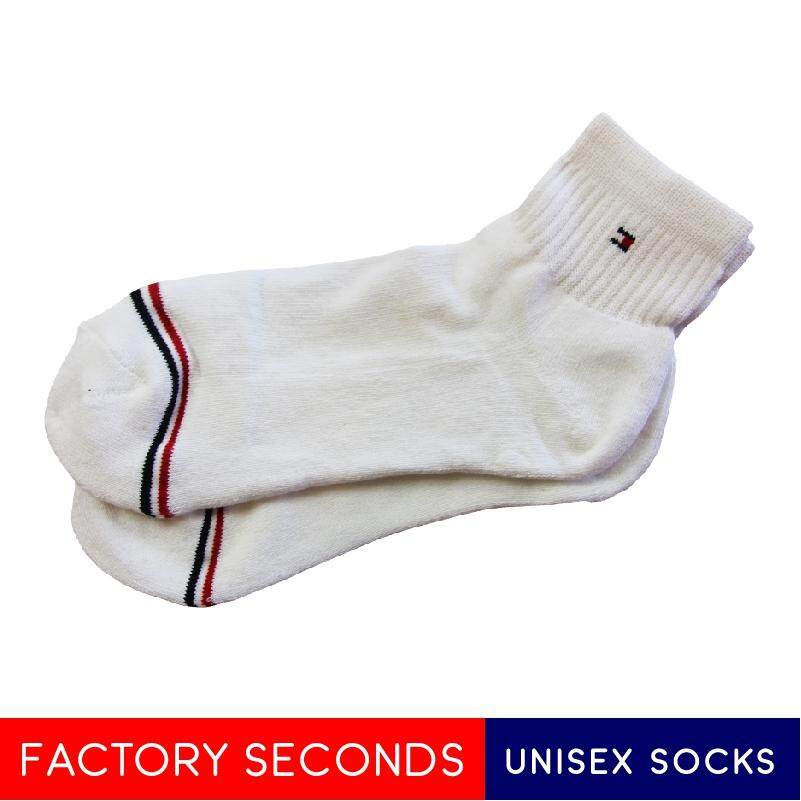 COMFORTABLE SOCKS FACTORY SECOND TMK3-6 WHITE (L SIZE)