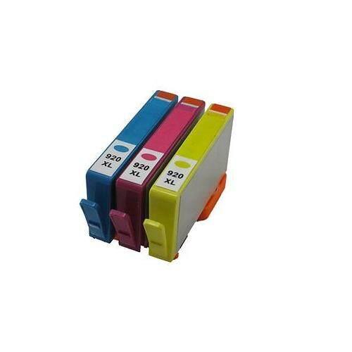 920-XL 920 XL Compatible 3 Multi Pack 920XL Ink Cartridge (C/M/Y)