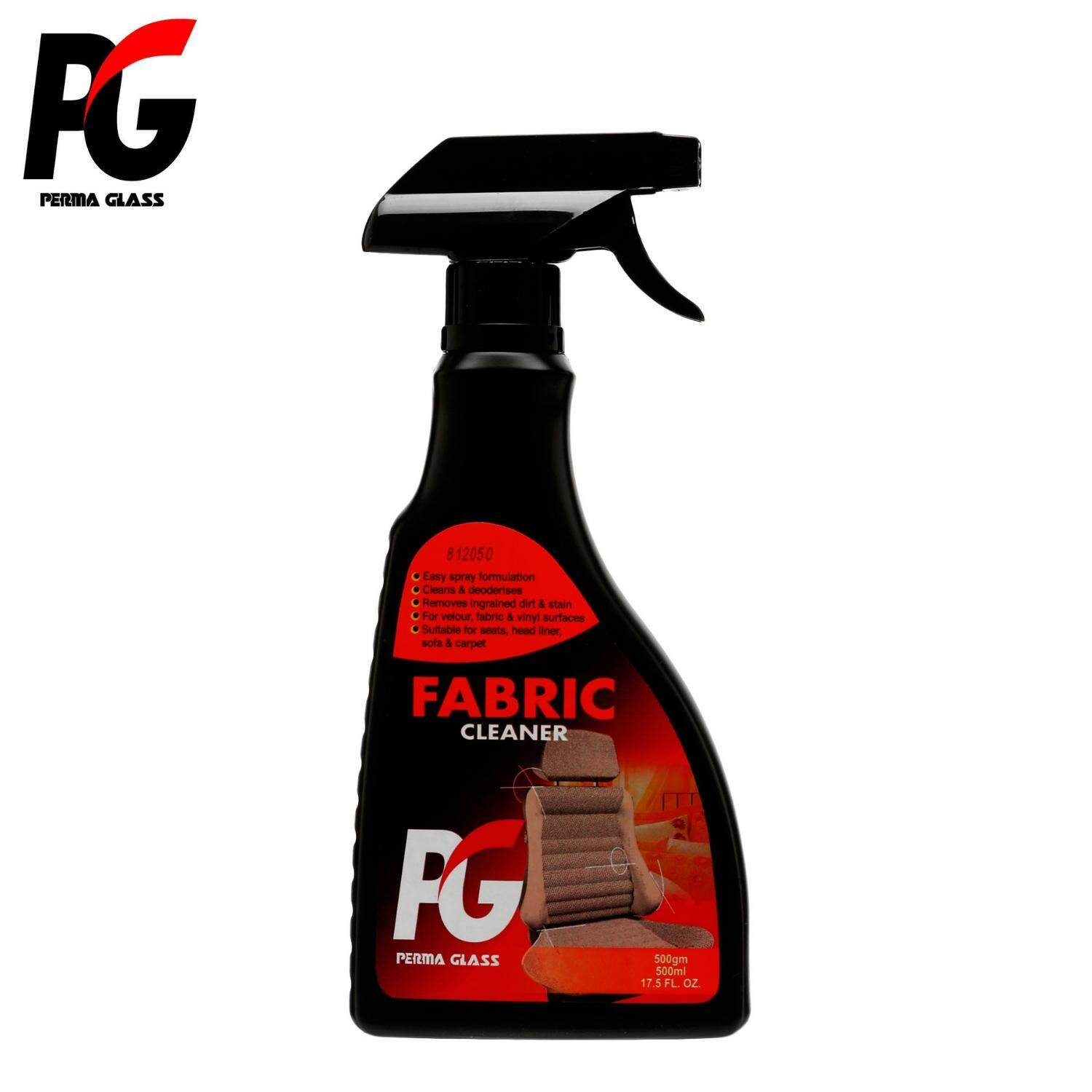 PG FABRIC CLEANER  (500ML)  - Suitable For Cars and Household Fabric