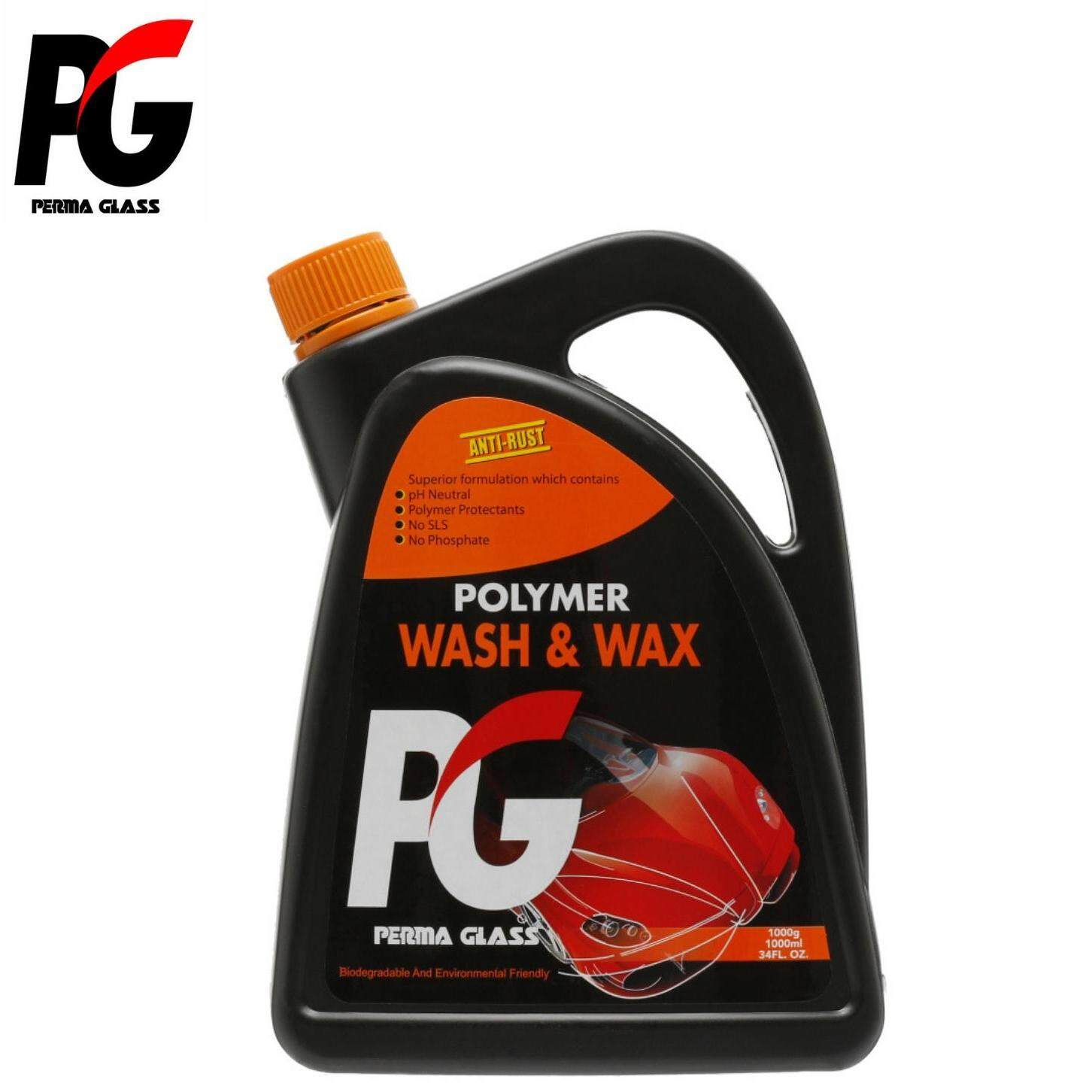 PG POLYMER WASH & WAX (2000ML) - CAR CARE EXTERIOR