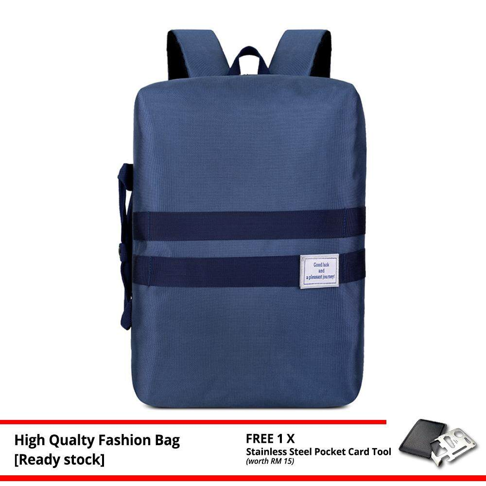 MV Bag Dual Function Travel Beg Laptop Backpack Casual Durable Light Weight New Fashion MI4371