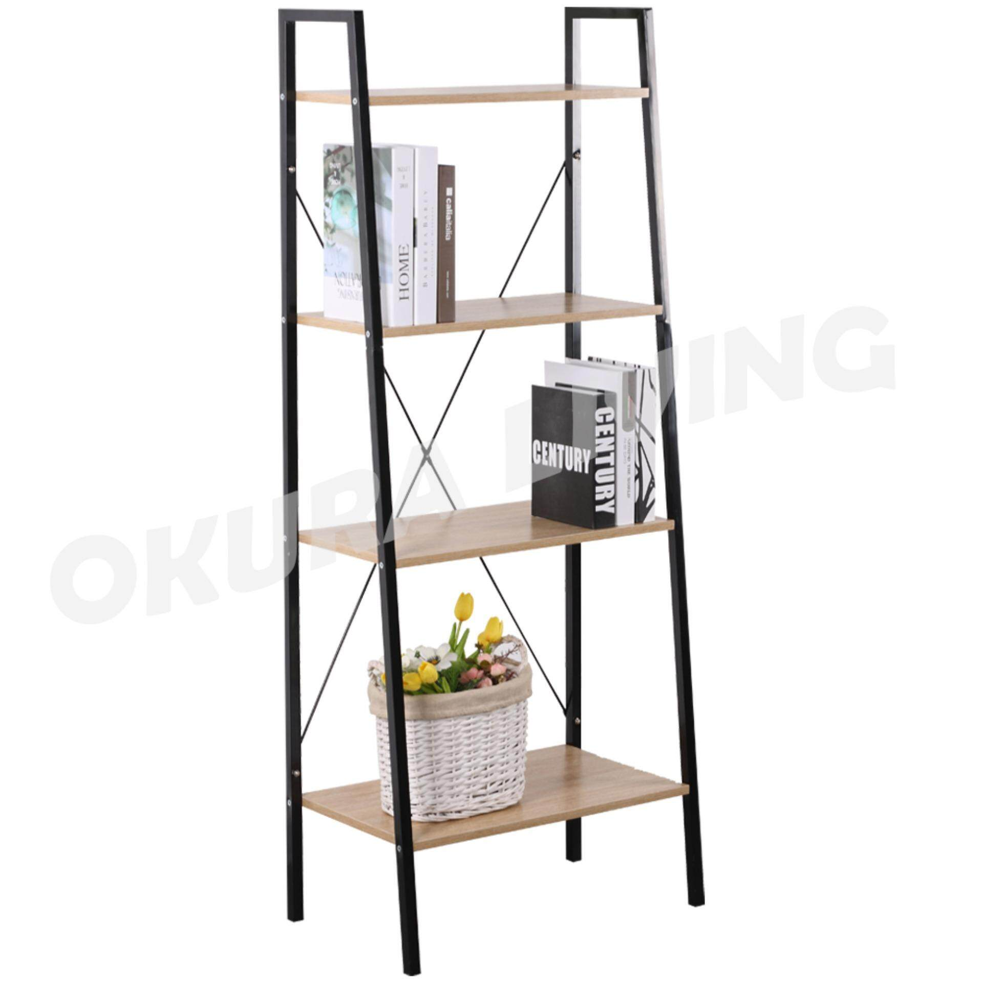 Okura 4 Tier Multipurpose Shelf Home Living Office