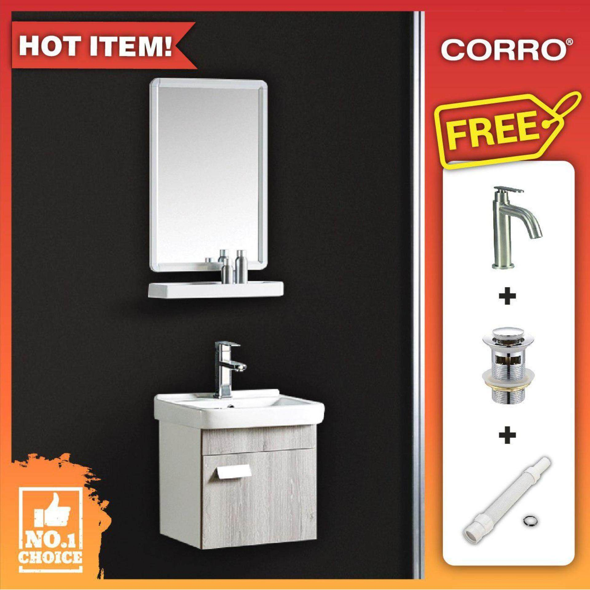 CORRO Bathroom Basin Cabinet Package