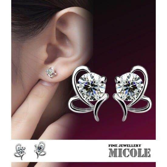 Micole E5008 Korean Style Women Elegant Earrings