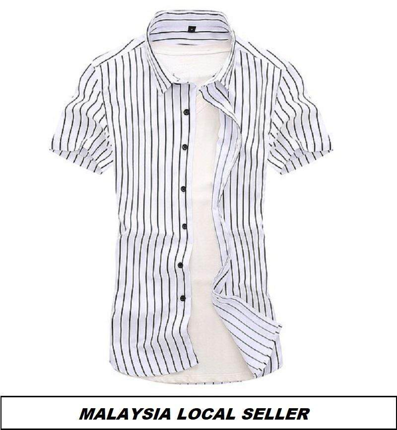 Kemeja Batik Lelaki Kemeja Bunga Shirt Batik Code-09