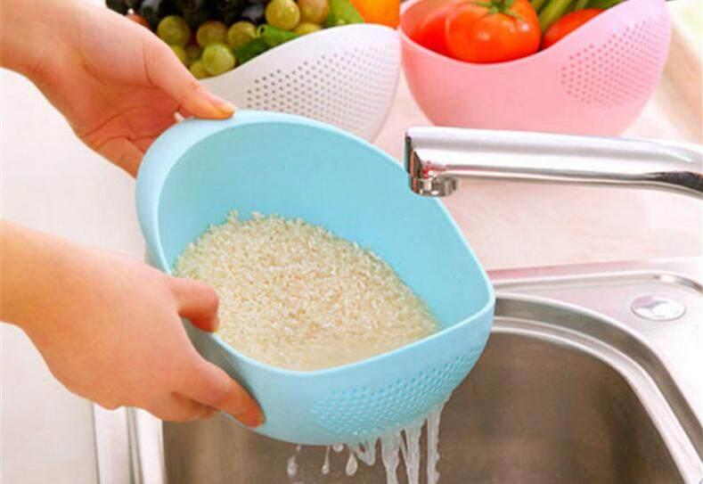 Grain / Fruit / vegetable washing and Straining Bowl