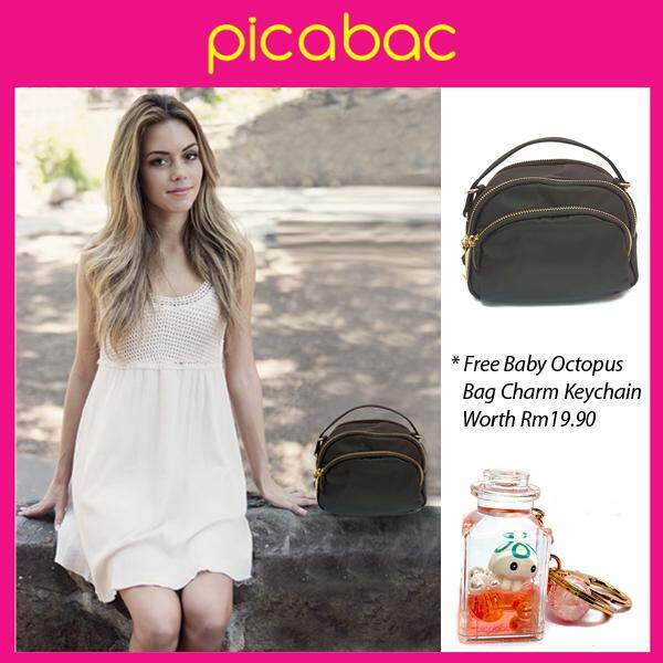 Picabac Women Top Handle Crossbody Nylon Sling Bags PACHB-17042
