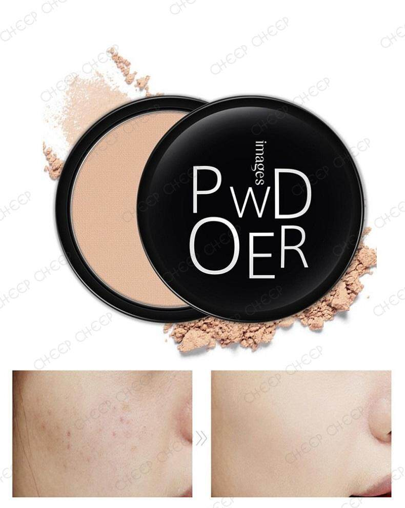 IMAGES Powder Oil Control Flawless Cake Makeup Pro Pressed Powder 16g