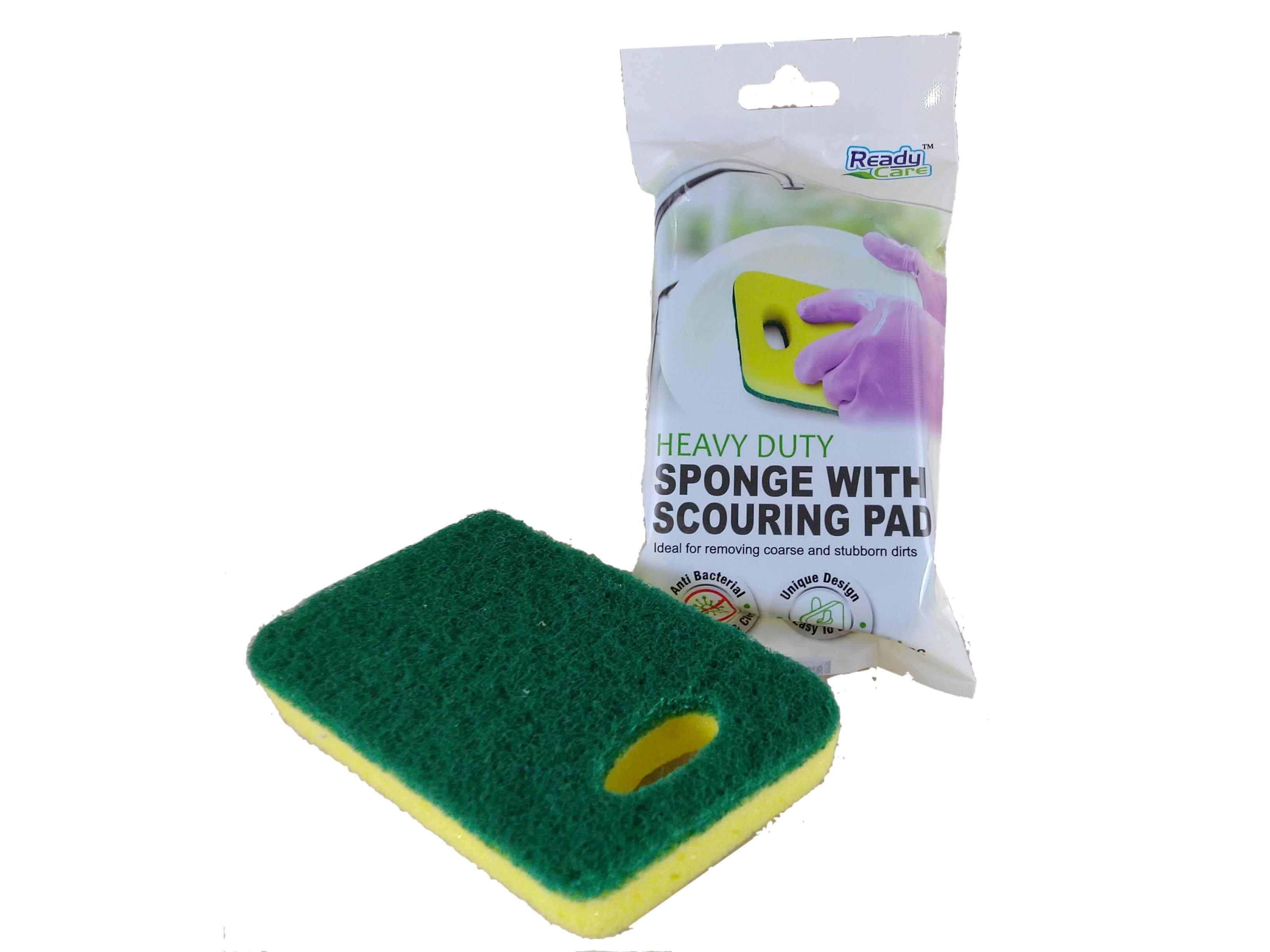 Readycare Sponge With Heavy Duty Scouring Pad 1pc